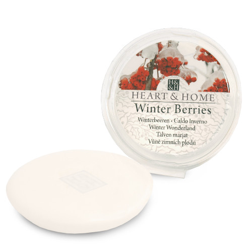 Heart and Home Cheap Wax Melt Winter Berries