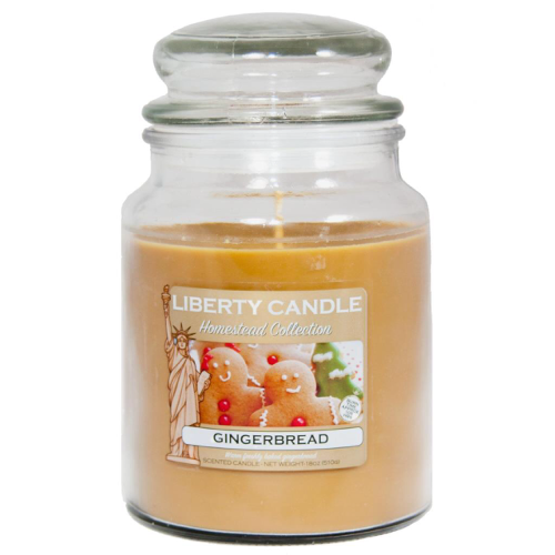 Liberty Candles Gingerbread Candle Xmas Christmas Festive