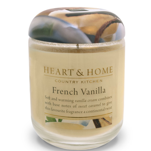 Heart & Home French Vanilla Candle Jar