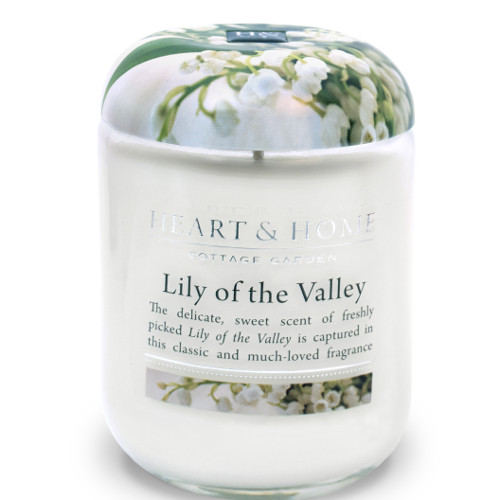 Heart & Home Lily of the Valley Large Jar
