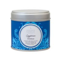 Shearer Candle Egyptian Cotton Tin