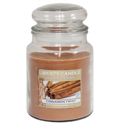 Liberty Candle Homestead Cinnamon Twist 18oz Candle