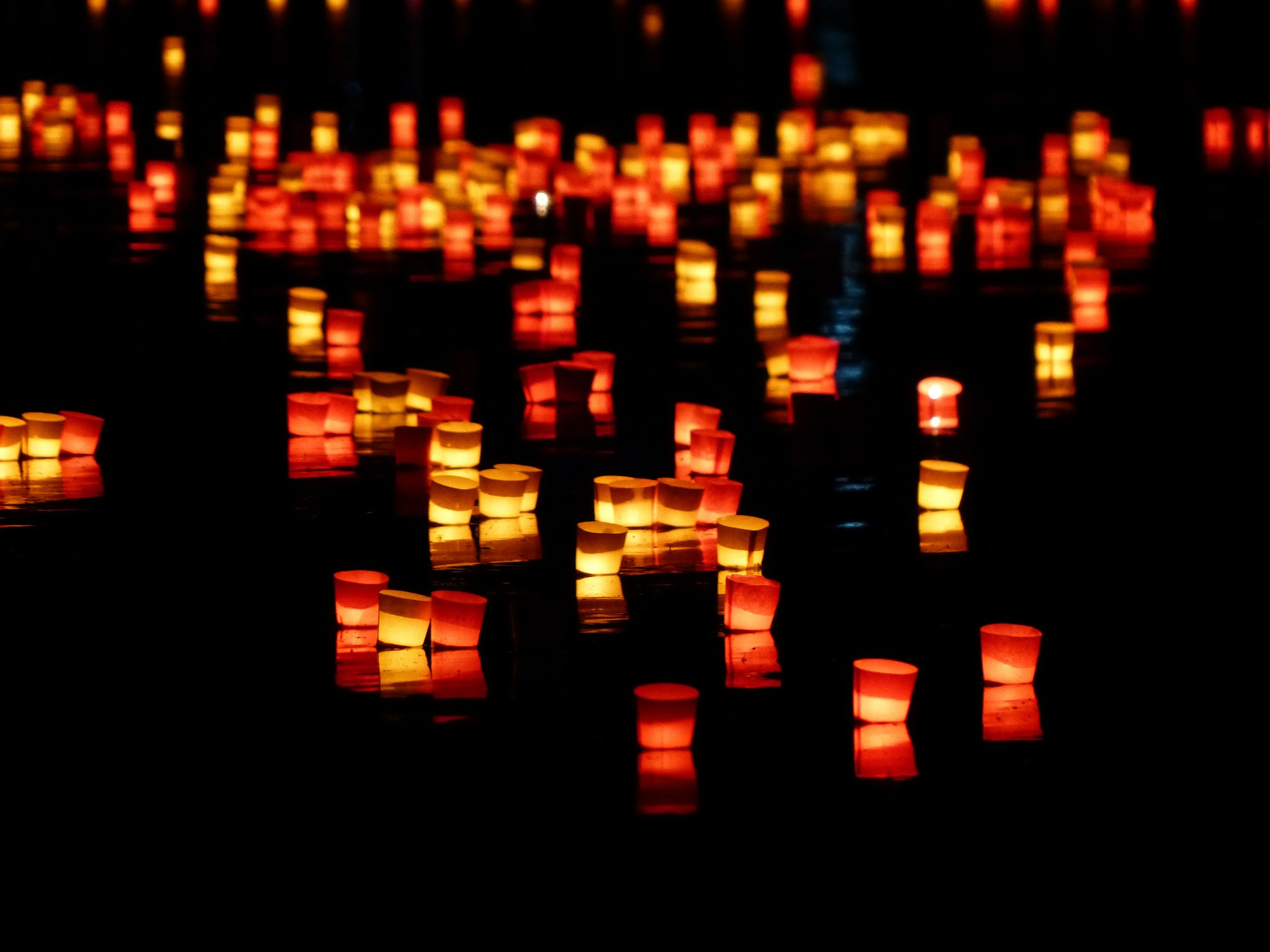 Heart Candles Floating Candles