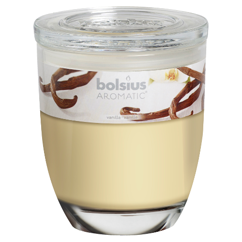 Bolsius large jar vanilla candle