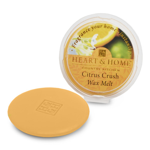 Heart & Home citrus crush wax melt